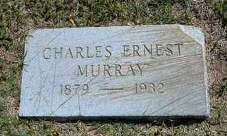 MURRAY, CHARLES ERNEST - Grant County, Kansas   CHARLES ERNEST MURRAY - Kansas Gravestone Photos