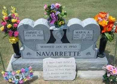 NAVARRETTE, MARIA A - Grant County, Kansas | MARIA A NAVARRETTE - Kansas Gravestone Photos