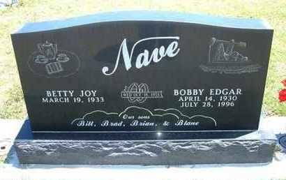 NAVE, BOBBY EDGAR - Grant County, Kansas   BOBBY EDGAR NAVE - Kansas Gravestone Photos