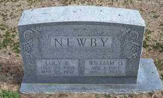 NORMAN NEWBY, LUCY BELLE - Grant County, Kansas | LUCY BELLE NORMAN NEWBY - Kansas Gravestone Photos