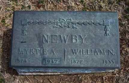 NEWBY, MYRTLE A - Grant County, Kansas | MYRTLE A NEWBY - Kansas Gravestone Photos