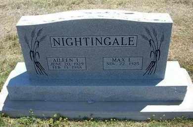 NIGHTINGALE, AILEEN I - Grant County, Kansas | AILEEN I NIGHTINGALE - Kansas Gravestone Photos