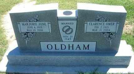 OLDHAM, MARJORIE JUNE - Grant County, Kansas | MARJORIE JUNE OLDHAM - Kansas Gravestone Photos