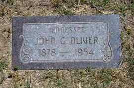 OLIVER, JOHN G - Grant County, Kansas | JOHN G OLIVER - Kansas Gravestone Photos