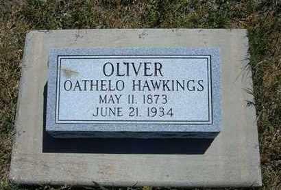 OLIVER, OATHELO HAWKINGS - Grant County, Kansas | OATHELO HAWKINGS OLIVER - Kansas Gravestone Photos