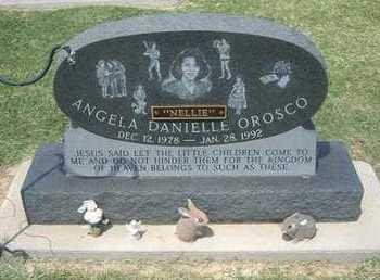 "OROSCO, ANGELA DANIELLE ""NELLIE"" - Grant County, Kansas | ANGELA DANIELLE ""NELLIE"" OROSCO - Kansas Gravestone Photos"