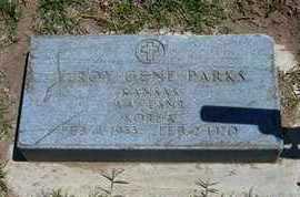 PARKS, LEROY GENE   (VETERAN KOR) - Grant County, Kansas | LEROY GENE   (VETERAN KOR) PARKS - Kansas Gravestone Photos
