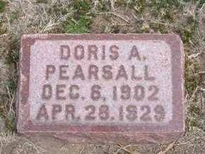 PEARSALL, DORIS ALICIA - Grant County, Kansas | DORIS ALICIA PEARSALL - Kansas Gravestone Photos