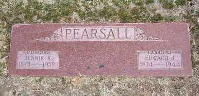PEARSALL, JENNIE MAY - Grant County, Kansas | JENNIE MAY PEARSALL - Kansas Gravestone Photos