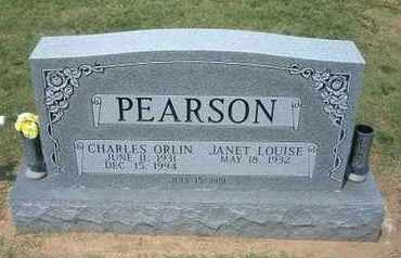 PEARSON, CHARLES ORLIN - Grant County, Kansas   CHARLES ORLIN PEARSON - Kansas Gravestone Photos