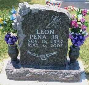 PENA, LEON, JR - Grant County, Kansas | LEON, JR PENA - Kansas Gravestone Photos