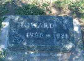 PHIFER, HOWARD - Grant County, Kansas | HOWARD PHIFER - Kansas Gravestone Photos