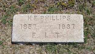 PHILLIPS, HENRY F. - Grant County, Kansas | HENRY F. PHILLIPS - Kansas Gravestone Photos