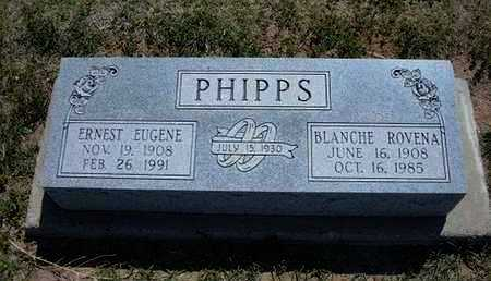 PHIPPS, BLANCHE ROVENA - Grant County, Kansas   BLANCHE ROVENA PHIPPS - Kansas Gravestone Photos