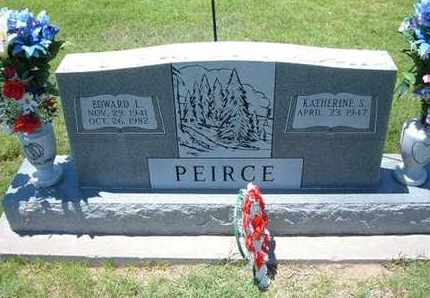 PEIRCE, EDWARD LEON - Grant County, Kansas   EDWARD LEON PEIRCE - Kansas Gravestone Photos