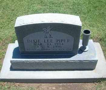 FAULDS PIPER, DIXIE LEE - Grant County, Kansas | DIXIE LEE FAULDS PIPER - Kansas Gravestone Photos