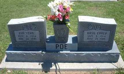 POE, BASIL EARLY - Grant County, Kansas | BASIL EARLY POE - Kansas Gravestone Photos