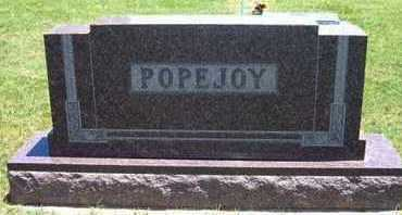POPEJOY FAMILY GRAVESTONE,  - Grant County, Kansas |  POPEJOY FAMILY GRAVESTONE - Kansas Gravestone Photos