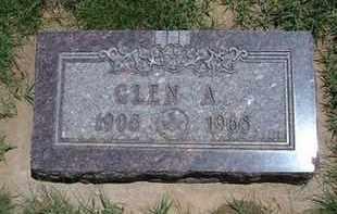 POPEJOY, GLEN A - Grant County, Kansas | GLEN A POPEJOY - Kansas Gravestone Photos