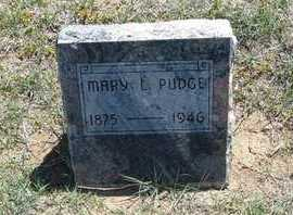 PUDGE, MARY LAVADA - Grant County, Kansas | MARY LAVADA PUDGE - Kansas Gravestone Photos