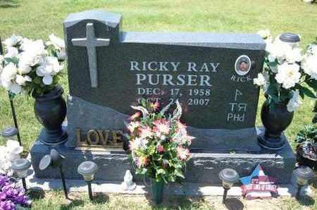 "PURSER, RICKY RAY ""RICK"" - Grant County, Kansas | RICKY RAY ""RICK"" PURSER - Kansas Gravestone Photos"