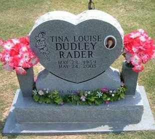 RADER, TINA LOUISE - Grant County, Kansas | TINA LOUISE RADER - Kansas Gravestone Photos