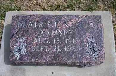 RAMSEY, BEATRICE - Grant County, Kansas | BEATRICE RAMSEY - Kansas Gravestone Photos