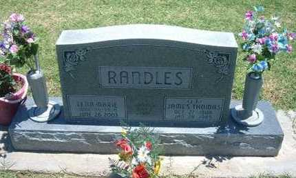 RANDLES, JAMES THOMAS - Grant County, Kansas | JAMES THOMAS RANDLES - Kansas Gravestone Photos