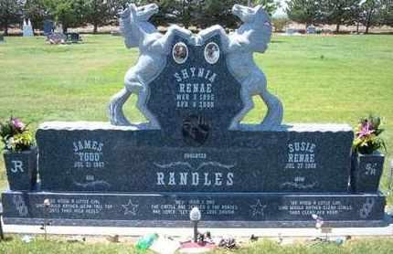 RANDLES, SHYNIA RENAE - Grant County, Kansas | SHYNIA RENAE RANDLES - Kansas Gravestone Photos