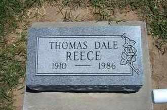 REECE, THOMAS DALE - Grant County, Kansas | THOMAS DALE REECE - Kansas Gravestone Photos