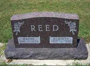 REED, BERNITA - Grant County, Kansas | BERNITA REED - Kansas Gravestone Photos