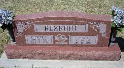RIDER REXROAT, DOVE J - Grant County, Kansas | DOVE J RIDER REXROAT - Kansas Gravestone Photos