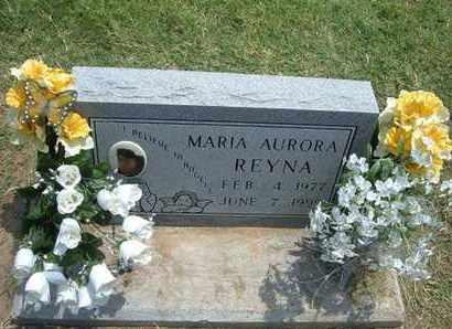 REYNA, MARIA AURORA - Grant County, Kansas   MARIA AURORA REYNA - Kansas Gravestone Photos