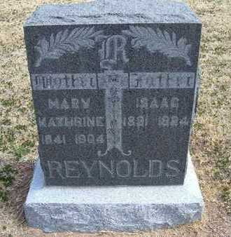 REYNOLDS, MARY KATHERINE - Grant County, Kansas | MARY KATHERINE REYNOLDS - Kansas Gravestone Photos