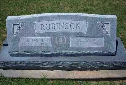 ROBINSON, DELLA M - Grant County, Kansas | DELLA M ROBINSON - Kansas Gravestone Photos