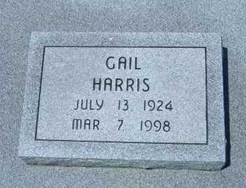 HARRIS, GAIL - Greeley County, Kansas   GAIL HARRIS - Kansas Gravestone Photos