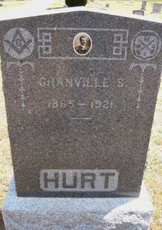 HURT, GRANVILLE S - Greeley County, Kansas | GRANVILLE S HURT - Kansas Gravestone Photos