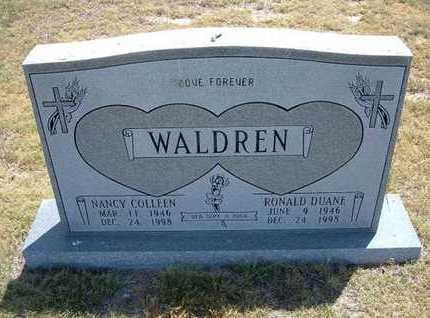 WALDREN, RONALD DUANE - Greeley County, Kansas   RONALD DUANE WALDREN - Kansas Gravestone Photos