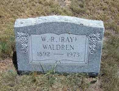 """WALDREN, WALTER RAY  """"RAY"""" - Greeley County, Kansas   WALTER RAY  """"RAY"""" WALDREN - Kansas Gravestone Photos"""