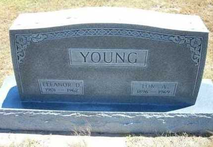 YOUNG, LON A - Greeley County, Kansas | LON A YOUNG - Kansas Gravestone Photos