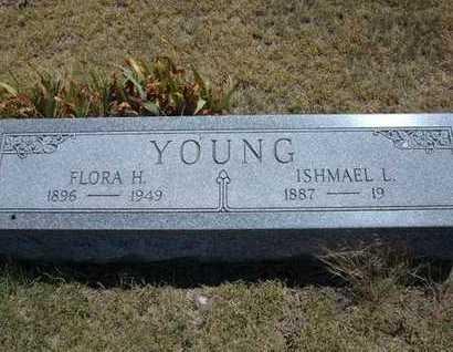 YOUNG, FLORA HOPE - Greeley County, Kansas | FLORA HOPE YOUNG - Kansas Gravestone Photos