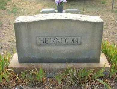 HERNDON FAMILY GRAVESTONE,  - Hamilton County, Kansas |  HERNDON FAMILY GRAVESTONE - Kansas Gravestone Photos