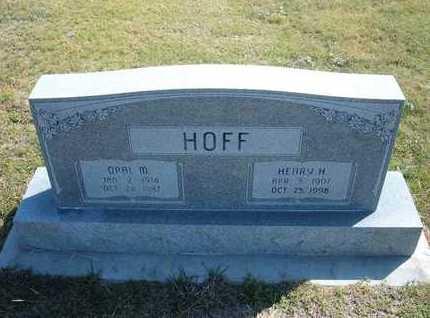 HOFF, OPAL MARIE - Hamilton County, Kansas | OPAL MARIE HOFF - Kansas Gravestone Photos