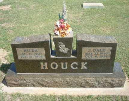 HOUCK, J. DALE - Hamilton County, Kansas | J. DALE HOUCK - Kansas Gravestone Photos