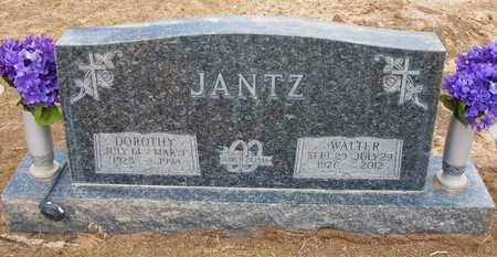 JANTZ, WALTER - Hamilton County, Kansas   WALTER JANTZ - Kansas Gravestone Photos