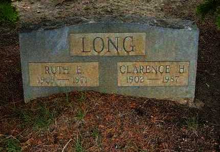 LONG, CLARENCE H. - Hamilton County, Kansas | CLARENCE H. LONG - Kansas Gravestone Photos