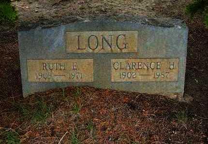 LONG, CLARENCE H - Hamilton County, Kansas | CLARENCE H LONG - Kansas Gravestone Photos