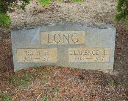 LONG, RUTH E. - Hamilton County, Kansas | RUTH E. LONG - Kansas Gravestone Photos