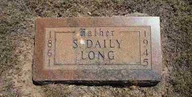 LONG, S. DAILY - Hamilton County, Kansas | S. DAILY LONG - Kansas Gravestone Photos