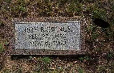 OWINGS, ROY B. - Hamilton County, Kansas | ROY B. OWINGS - Kansas Gravestone Photos